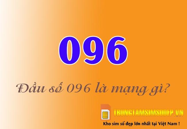 Tìm hiểu 096 là mạng gì