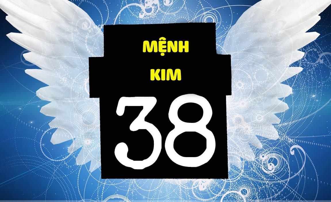 Số 38 là con số sinh của người mệnh Kim