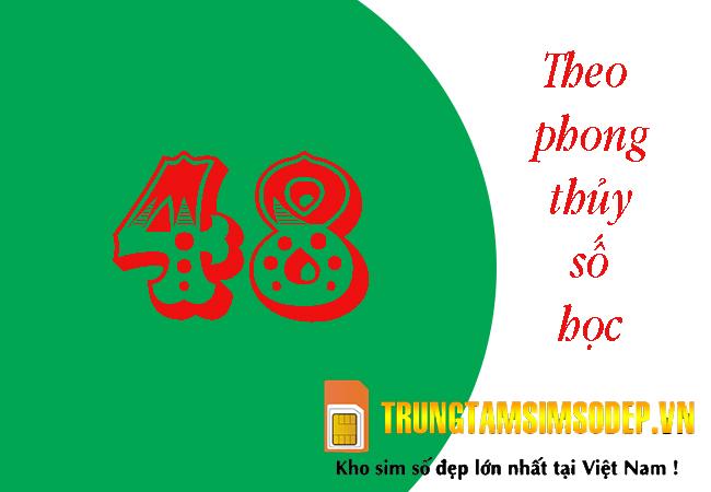 ý nghĩa số 48 theo phong thuỷ số học